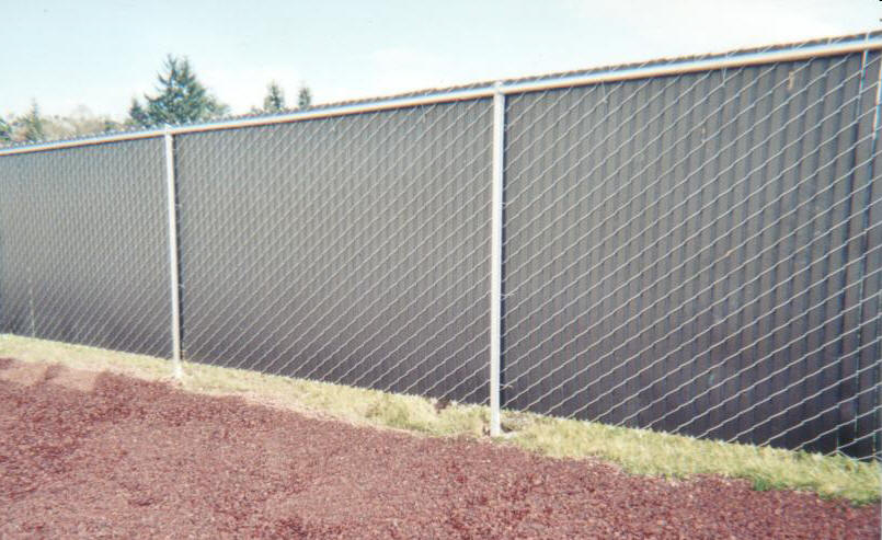 Chain link fence privacy screen how to make